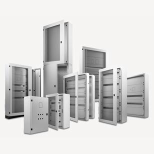armadietti in metallo per quadri elettrici - elettra